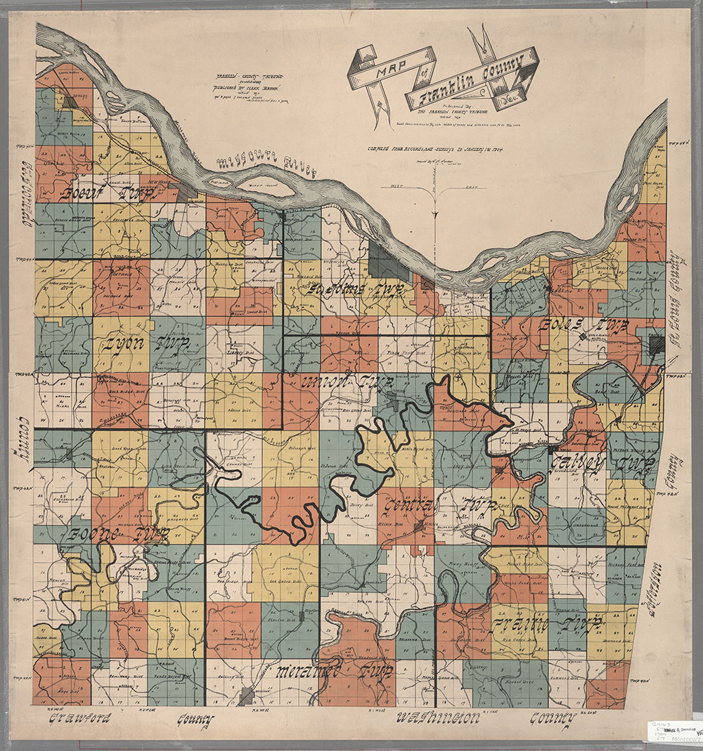 Maps Of Missouri - Mossouri map