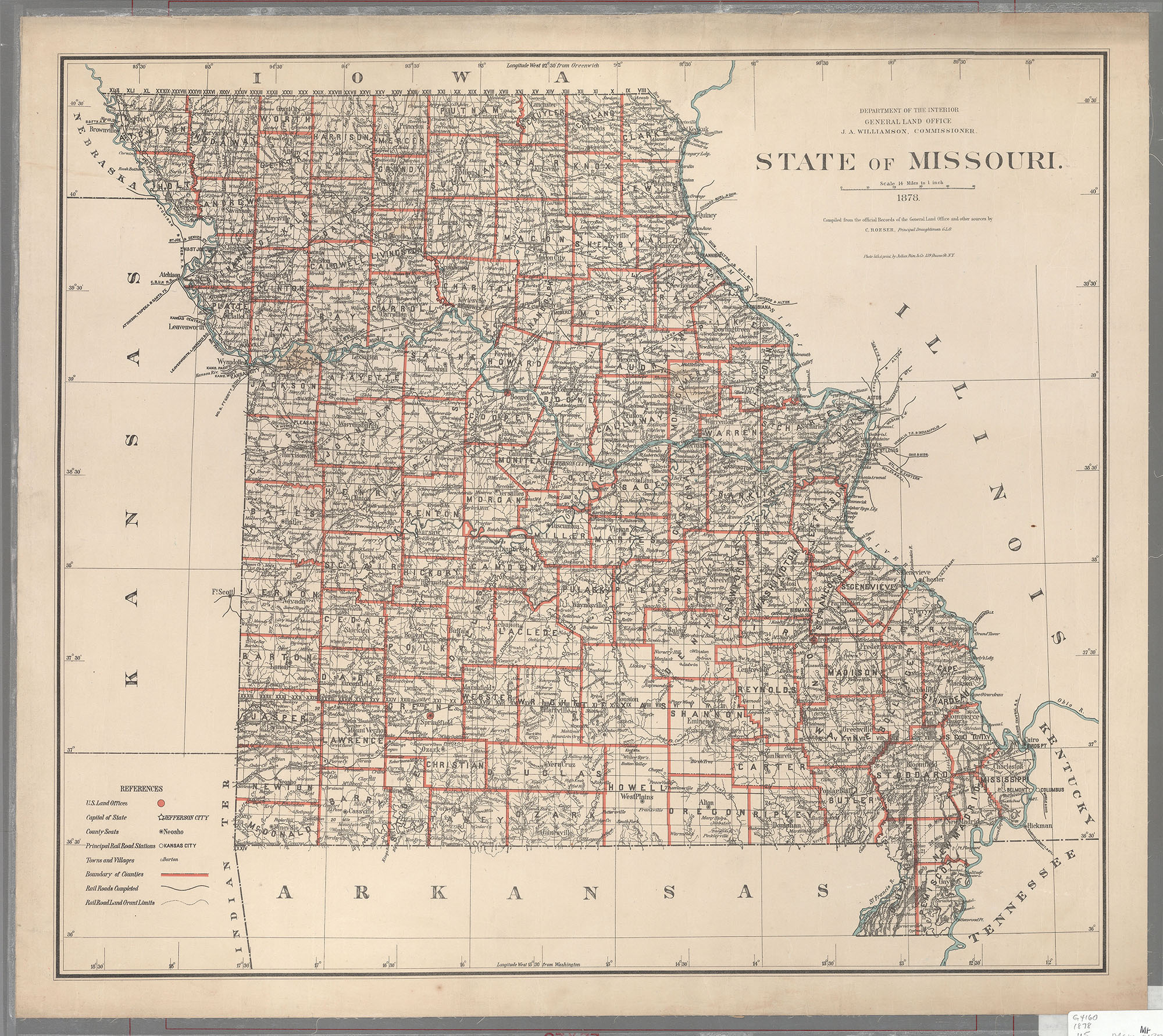 Maps Of Missouri