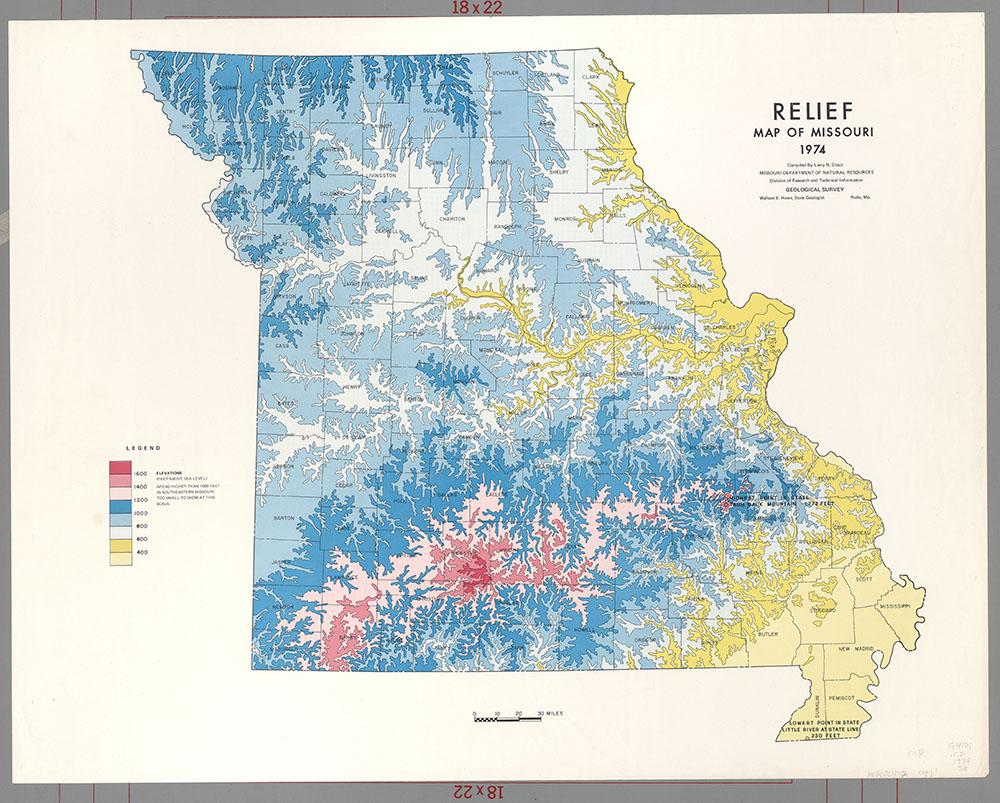 Maps Of Missouri