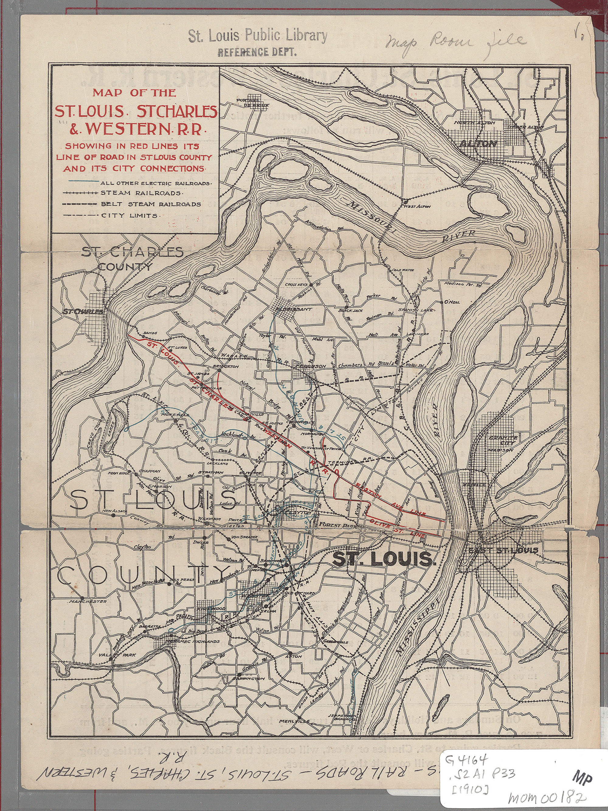 St. Louis Public Library - Maps of Missouri